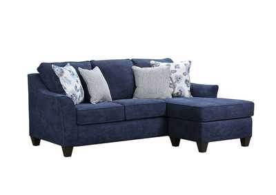 Image for 4330 Blue Sofa with Chaise