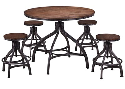 Chandler 5-Piece Pub Set
