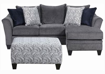 Image for Gray Sofa with Chaise