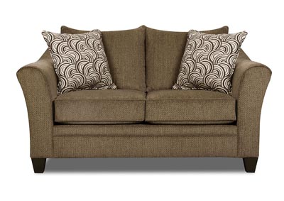 Image for Brown Loveseat