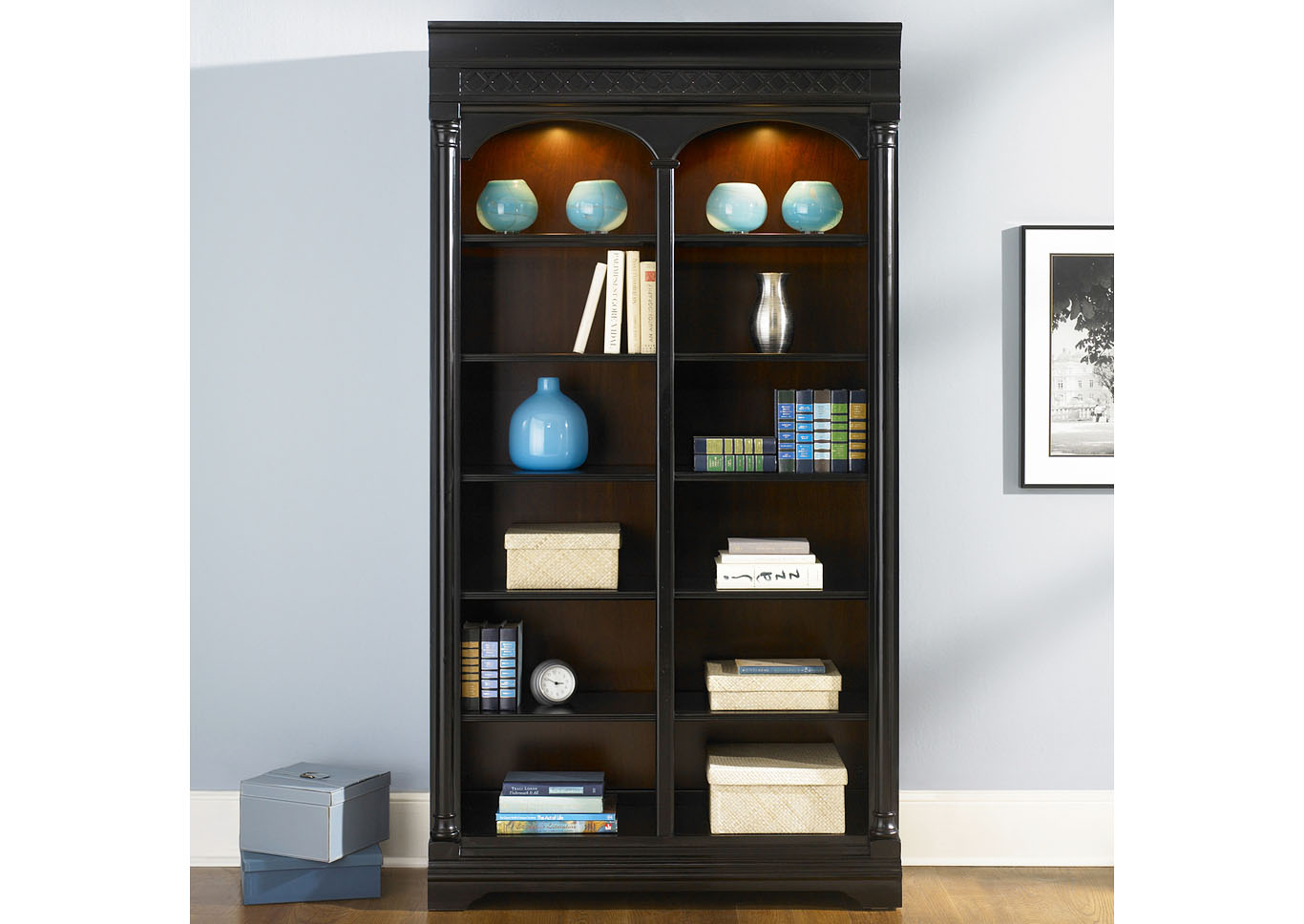 St. Ives Bunching Bookcase,Liberty