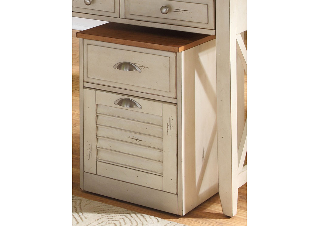 Ocean Isle Mobile File Cabinet,Liberty