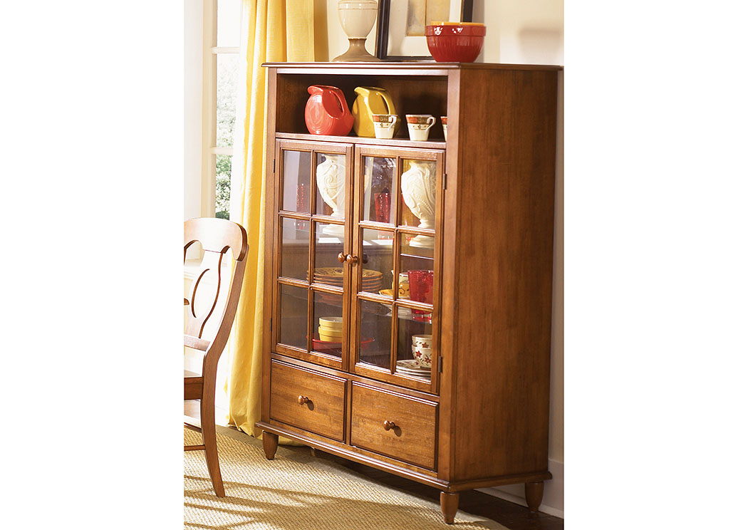 Low Country Bronze Curio Cabinet,Liberty