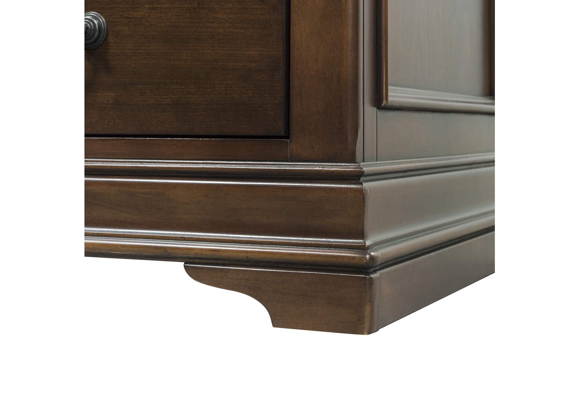 Chateau Valley Cherry Media File Cabinet Roberts Furniture ...