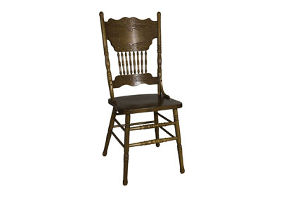 Nostalgia Double Press Back Side Chair (Set of 2)