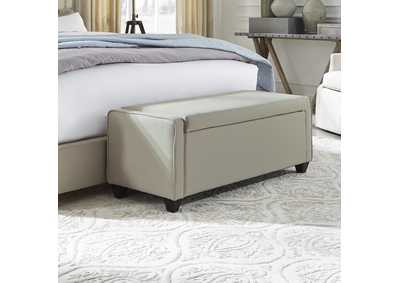 Upholstered Beds Natural Bed Bench (RTA)