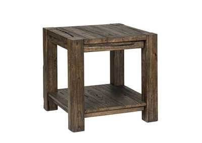 Mercer Court Brown End Table