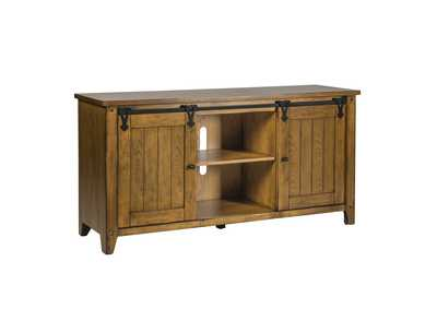 Lake House Oak TV Console