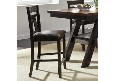 Lawson Espresso Splat Back Counter Chair (RTA)