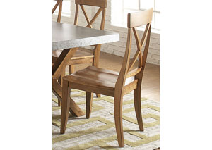 Keaton X Back Side Chair (RTA) (Set of 2)