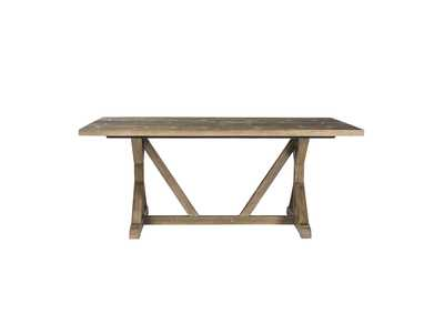 Carolina Lakes Gray Dining Table,Liberty