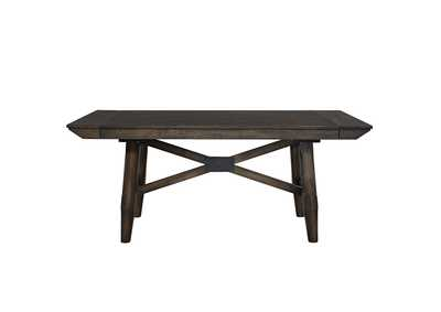 Double Bridge Chestnut Dining Table