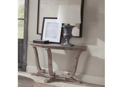 Image for Greystone Mill White Wash Sofa Table