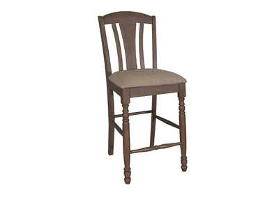 Candlewood Slat Back Barstool (RTA) (Set of 2)