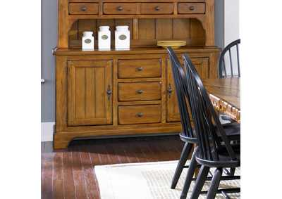 Treasures Rustic Buffet - Oak
