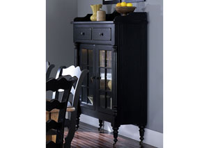 Treasures Display Cabinet - Black
