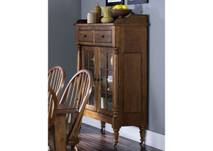 Treasures Display Cabinet - Oak