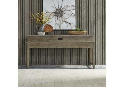 Image for Parkland Falls Taupe Console Bar Table