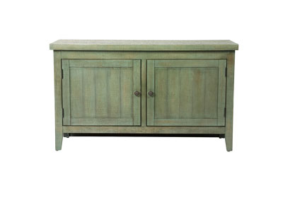 Image for Boho Loft Green 48 Inch TV Console