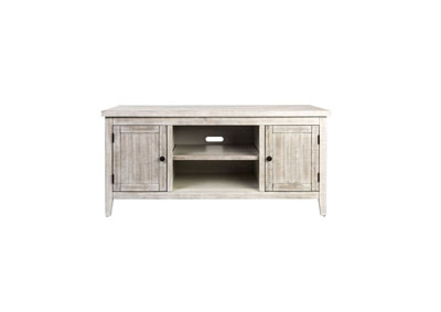 Image for Boho Loft White 54 Inch TV Console