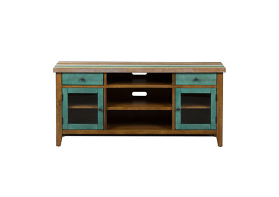 Image for Boho Loft Multicolored 60 Inch TV Console