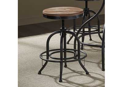 Vintage Series 24 Inch Adjustable Barstool (Set of 2),Liberty