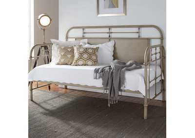 Vintage Series Vintage Cream Metal Twin Daybed