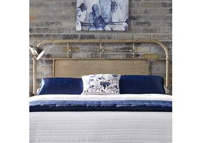 Image for Vintage Series Vintage Cream Queen Metal Headboard