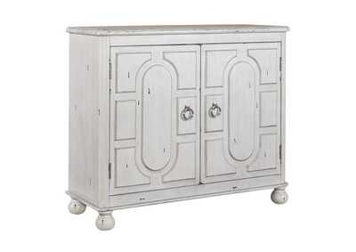 Kirkwood Antique White 2 Door Accent Cabinet