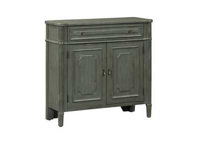 Madison Gray Park 1 Drawer 2 Door Accent Cabinet