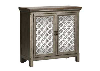 Westridge Gray 2 Door Accent Cabinet