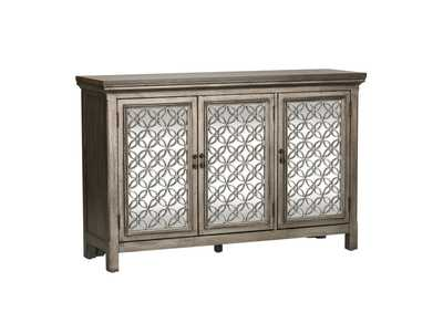 Westridge Gray 3 Door Accent Cabinet