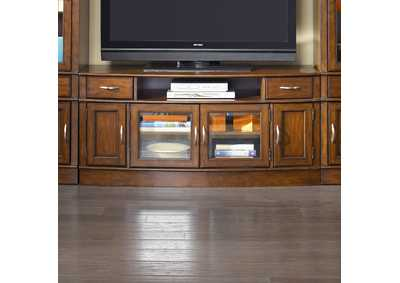 Image for Hanover Cherry Spice Entertainment TV Stand