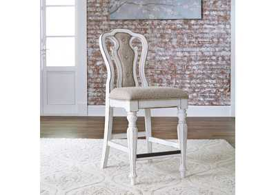 Magnolia Manor White Counter Chair (RTA)