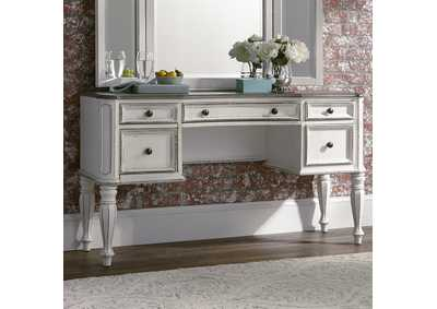 Image for Magnolia Manor Antique White Vanity Desk