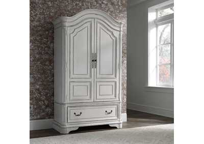 Image for Magnolia Manor Antique White Armoire