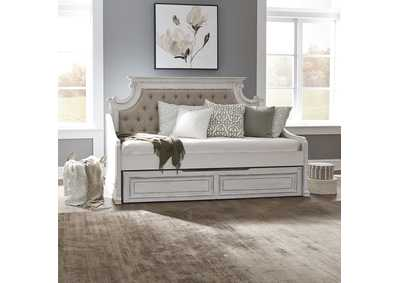 Magnolia Manor Antique White Twin Daybed w/Trundle