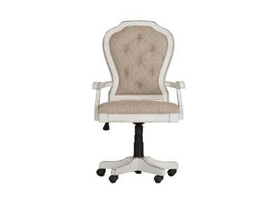 Magnolia Manor Antique White Jr Executive Desk Chair