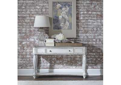 Magnolia Manor Antique White Sofa Table