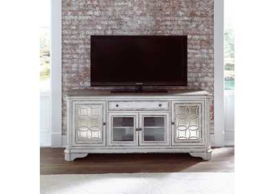Image for Magnolia Manor Antique White Entertainment TV Stand