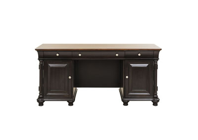 Image for St. Ives Jr Executive Chocolate/Cherry Jr Executive Desk