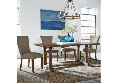 Havenbrook Brown 5 Piece Dining Set