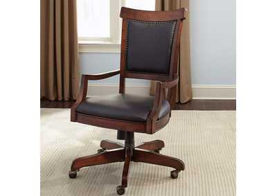 Brayton Manor Cognac Jr Executive Desk Chair (RTA)