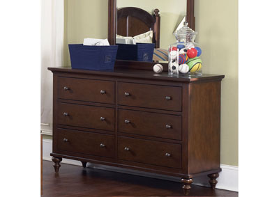 Image for Abbott Ridge Youth 6 Drawer Dresser