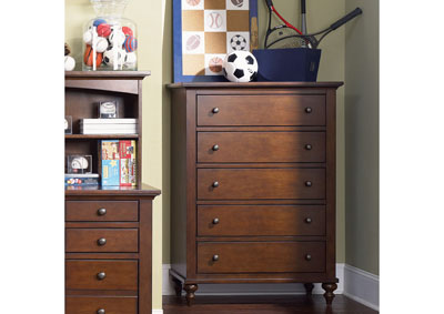 Image for Abbott Ridge Youth 5 Drawer Chest