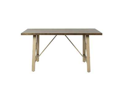 Vintage Series Brown Rectangular Dining Table,Liberty