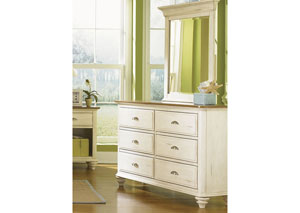 Ocean Isle Youth 6 Drawer Dresser