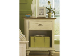 Image for Ocean Isle Youth 1 Drawer Nightstand