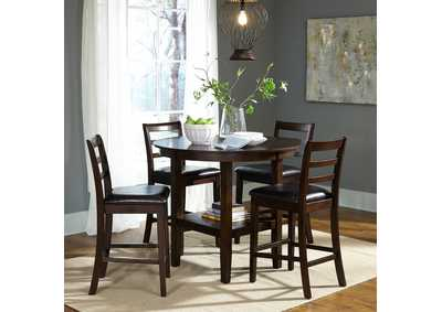 Image for Hampton Russet 5 Piece Pub Table Set