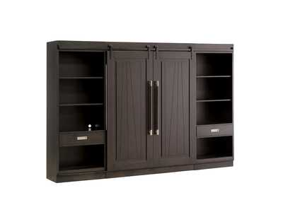 Image for Abbey Charcoal Entertainment Center w/Piers